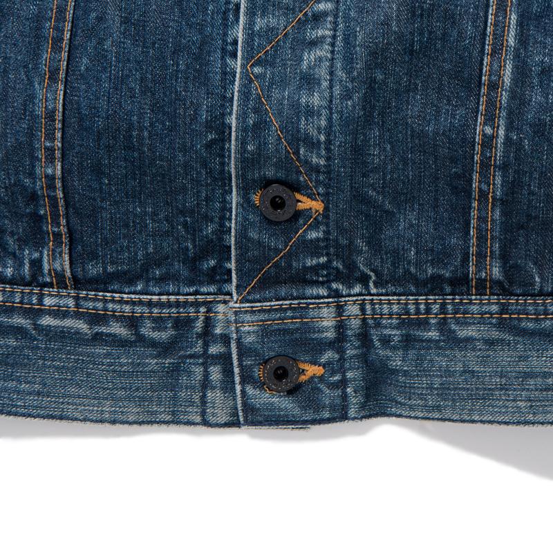 ブランケット裾ボタン